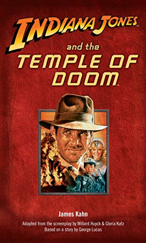 Indiana Jones and the Temple of Doom (SIGNED): Kahn, James