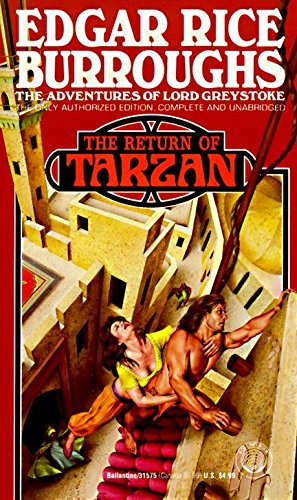 9780345315755: The Return of Tarzan, Vol. 2