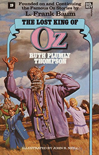 Lost King Of Oz (Wonderful Oz Books, No 19)
