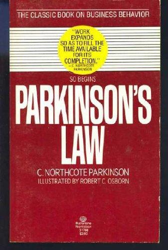 9780345317681: Parkinson's Law