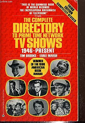9780345318640: Complete Directory to Prime Time Network TV Shows 1946-Present