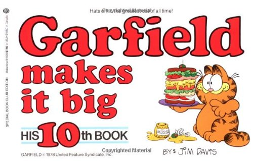 Garfield Makes It Big: His 10th Book
