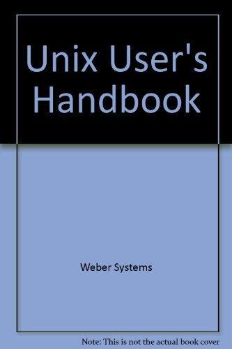 9780345320001: Bt-UNIX User's Handbk