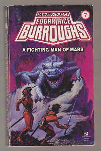 9780345320520: FIGHTING MAN OF MARS (Mars (del Rey Books Numbered))