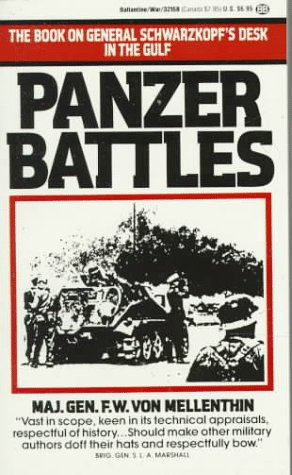 9780345321589: Panzer Battles : A Study of the Employment of Armor in the Second World War