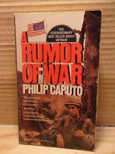9780345323576: A Rumor of War