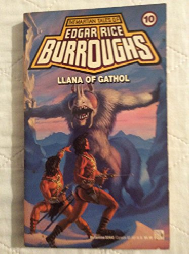 9780345324436: Llana of Gathol (Martian Tales of Edgar Rice Burroughs)