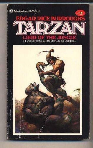 Tarzan, Lord of the Jungle, Book 11: Edgar Rice Burroughs