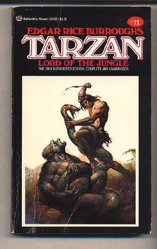 9780345324559: Tarzan, Lord of the Jungle, Book 11