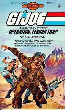 9780345326676: G.I. Joe - Operation : Terror Trap (Find Your Fate #3)
