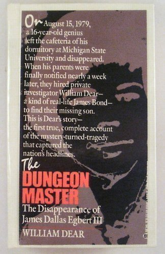 9780345326959: The Dungeon Master: The Disappearance of James Dallas Egbert III
