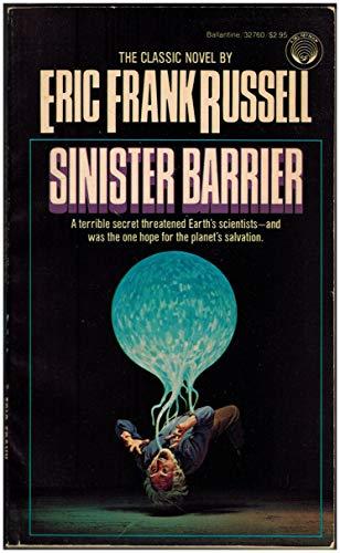 9780345327604: Sinister Barrier