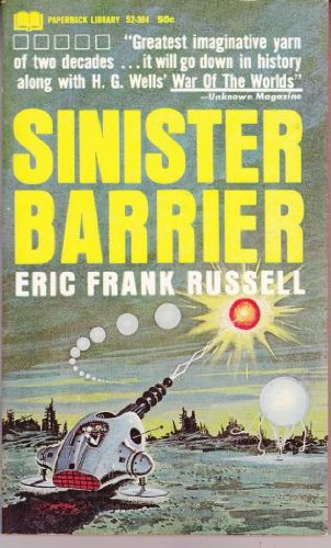 Sinister Barrier: Eric Frank Russell