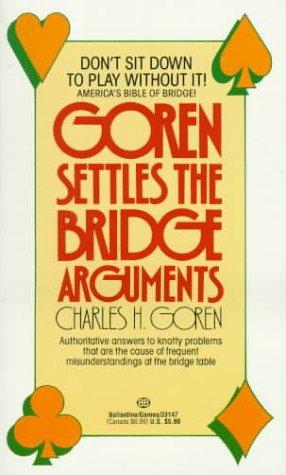 9780345331472: Goren Settles the Bridge Arguments