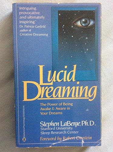 9780345333551: Lucid Dreaming