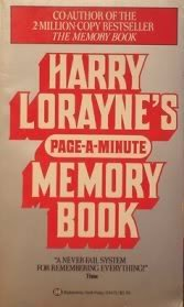 Harry Lorayne's Page-A-Minute Memory Book: Lorayne, Harry
