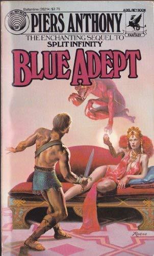 9780345336323: BLUE ADEPT (Apprentice Adept (Paperback))