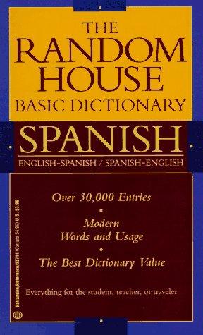 9780345337115: Random House Basic Dictionary Spanish