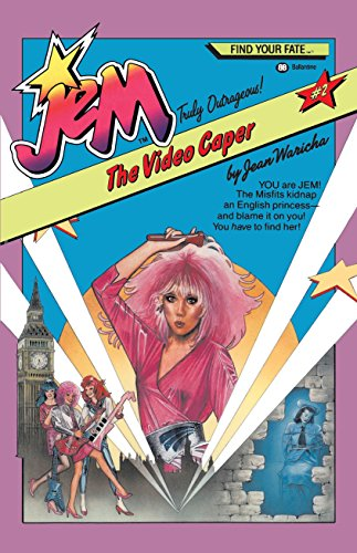 9780345337948: Jem #2: The Video Caper: YOU are JEM! The Misfits kidnap an English princess -- and blame it on you! You have to find her!