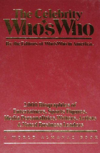 9780345339904: The Celebrity Who's Who