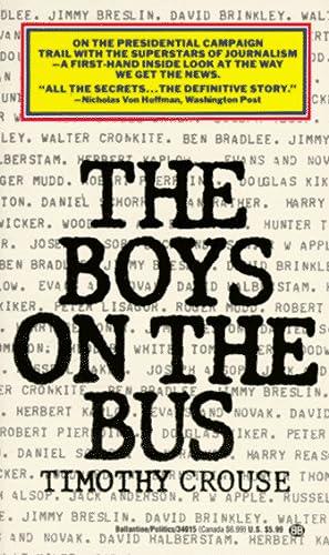 9780345340153: Boys on the Bus