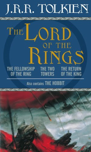 THE HOBBIT and THE LORD of the RINGS. 4 Volumes Boxed Set.: TOLKIEN, J.R.R.