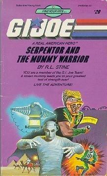 Serpentor and the Mummy Warrior (G.I. Joe,: Stine, R.L.