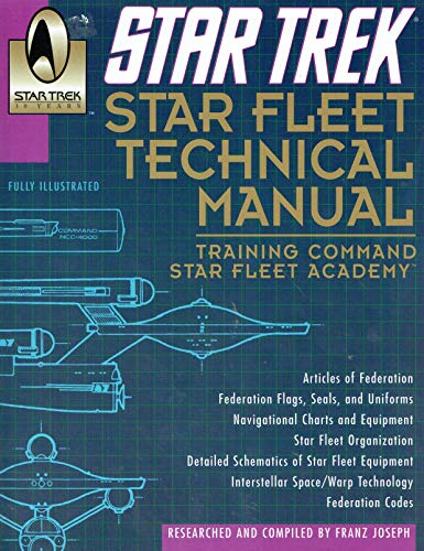 9780345340740: Star Fleet Technical Manual