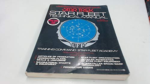 9780345340740: Star Trek: Star Fleet Technical Manual
