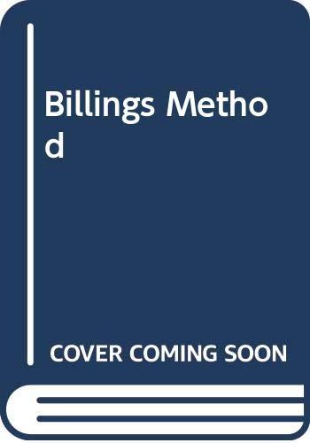 9780345341112: Billings Method