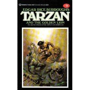9780345342379: Tarzan and the Golden Lion