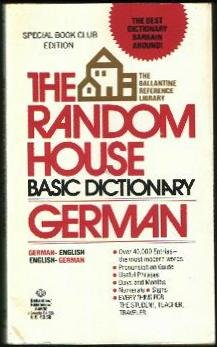 The Random House Basic Dictionary German