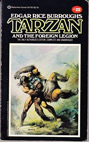 9780345347503: Tarzan and the Foreign Legion: (#22)