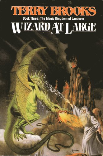 Wizard at Large (Magic Kingdom of Landover, Book 3)