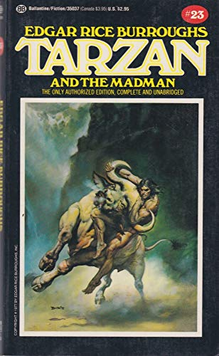 Tarzan and the Madman: (#23) (9780345350374) by Edgar Rice Burroughs