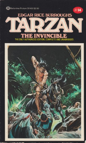9780345351630: Tarzan the Invincible: (#14)
