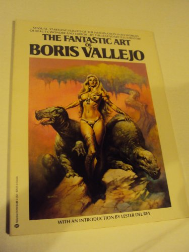 9780345352095: The Fantastic Art of Boris Vallejo