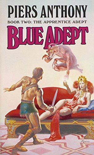 9780345352453: Blue Adept (The Apprentice Adept, Book 2)