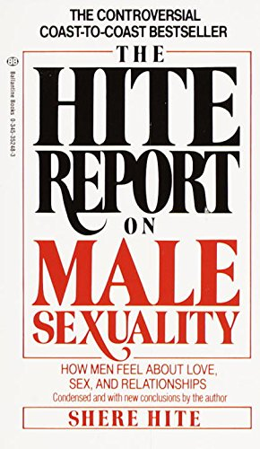 9780345352484: The Hite Report on Male Sexuality: How Men Feel About Love and Sex