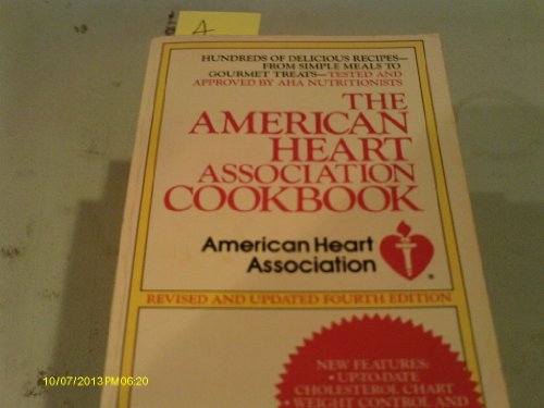 The American Heart Association Cookbook: (Revised and Updated): Eshleman, Ruthe