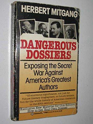 Dangerous Dossiers (0345358015) by Mitgang, Herbert