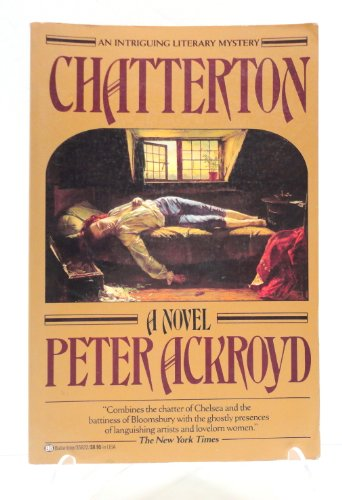 9780345358226: Chatterton: A Literary Mystery