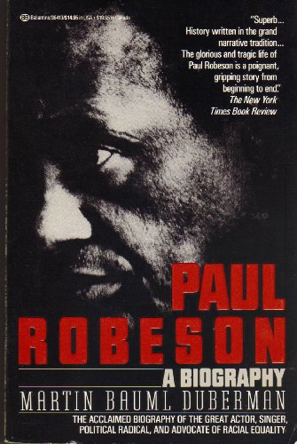 9780345364135: Paul Robeson