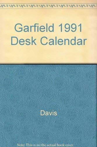 Garfield 1991 Desk Calendar: Jim Davis