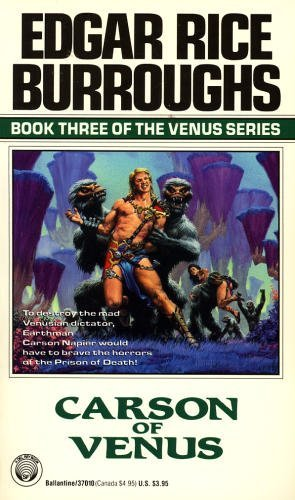 Carson of Venus (Venus Series, No. 3): Edgar Rice Burroughs