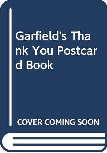 9780345378934: Garfield Thank You Postcard Book