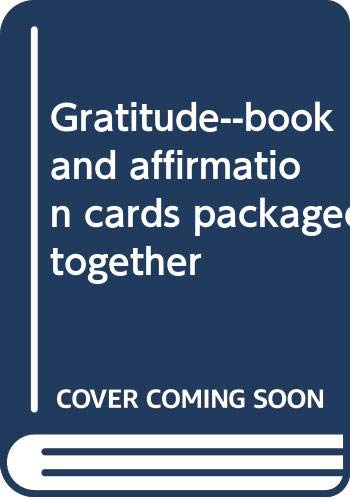 9780345381262: Gratitude--book and affirmation cards packaged together