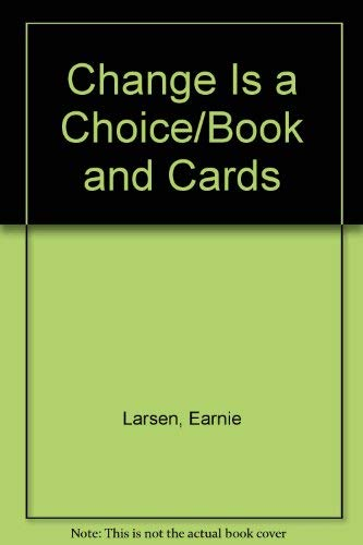 9780345381286: Change Is a Choice/Book and Cards