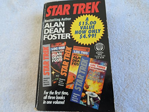 9780345382474: Star Trek Log One/Log Two/Log Three (A Del Rey book)