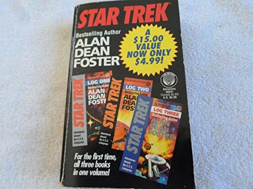 9780345382474: Star Trek Log One/Log Two/Log Three (A Del Rey book)